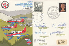 AD30cG World Light Aeroplane Championships. Flown Signed by Desplay Team.