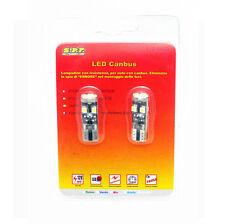 2 LAMPADINE 8 LED SMD 5050 T10 5W BIANCO CANBUS NO ERROR ACCESSORI AUTO TUNING