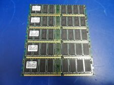 Lot of 5x Dell OptiPlex Samsung 256MB DDR M368L3223DTL-CB0 PC2100U-25330-A0