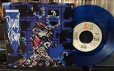DAVID BOWIE Blue Jean / Dancing With The Big Boys B 8231 1984 NM BLUE VINYL