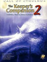 THE KEEPER'S COMPANION 2 EXC+! Chaosium Call of Cthulhu COT H.P Lovecraft Module