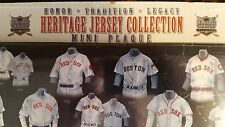 Boston Red Sox Mini Heritage Jersey Collection MLB Wooden Plaque
