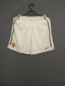 Manchester United Shorts Size Kids Boys 13-15 Soccer Nike 382460-105 ig93