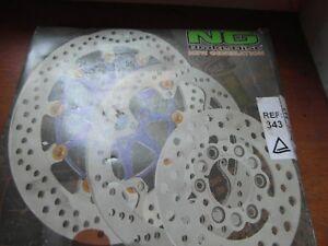 Disque de frein arrière NG Brake Disc moto Peugeot 50 XPS 2005 115-13965R-4 Neuf