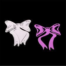 Diy Butterfly Knot Metal Cut Dies Stencil For Scrapbooking Diy Album Card Decor@