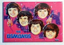 "Vintage THE OSMONDS Lunchbox 2"" x 3"" Fridge MAGNET"