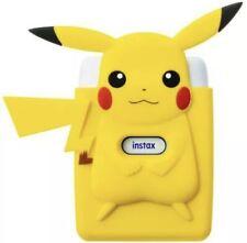 Fujifilm cheki printer instax mini Link and Pikachu Pokemon Silicone Case Set