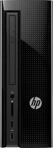 NEW HP 260-A114 Slimline Desktop Computer 1TB Hard Drive Glossy Black 4GB RAM