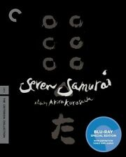 Seven Samurai [Criterion Collection] [2 Discs] (2010, Blu-ray NEUF)2 DISC SET
