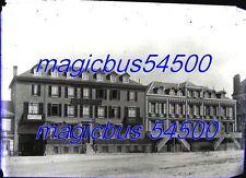 9x GRANDES PLAQUE VERRE PHOTO NEGATIF v.1910 Vacances COTE NORMANDIE PICARDIE