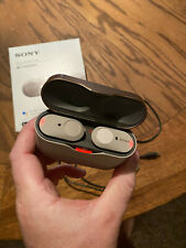 Sony WF-1000XM3 Wireless Bluetooth Noise Cancelling Headphones - Silver #42