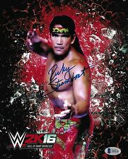 Ricky Steamboat Signed 8x10 Photo BAS Beckett COA WWE HOF xBox Picture Autograph