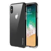 For iPhone X Clear TPU Rubber Silicone Phone Skin Shockproof Case Cover