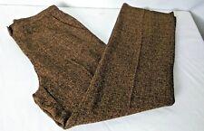 SAG Harbor Womens Size 8P Petite Brown Slacks Pants Polyester Rayon Blend