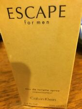 ESCAPE * CK Calvin Klein * Cologne for Men * 3.4 oz * NEW IN BOX