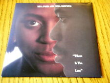 """MICA PARIS & WILL DOWNING - WHERE IS THE LOVE  7"""" VINYL PS"""
