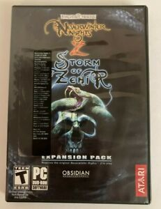 Neverwinter Nights 2: Storm of Zehir Expansion Pack PC Complete w/ Manual