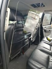 Sneeze Guard Screen Protection Vehicle Partition For Suv Xl