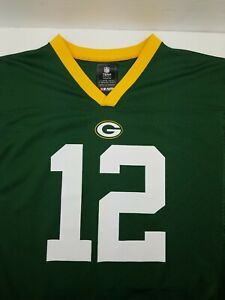 Aaron Rodgers Green Bay Packers Jersey Youth XL 18/20 NFL Team Apparel Adult S