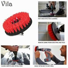 TOUGH Drill Turbo Brush Patio Tile Bathroom Grout Brick Wall Cleaner Cleaning