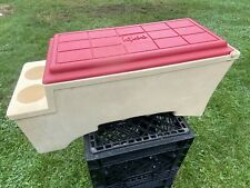"Vintage Rare Large Igloo ""Kool Rest� Car Cooler Console Red Cup Holder Koolrest"