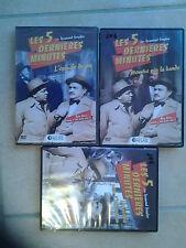 11268 //LOT 3 DVD LES 5 DERNIERES MINUTES RAYMOND SOUPLES DVD EN TBE