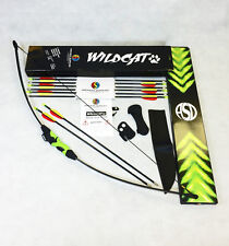 Nouveau 2016 asd wildcat kids childs tir à l'arc recourbé take down bow pack avec 8 flèches