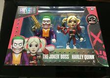 The Joker Boss & Harley Quinn,  Metal Die Cast Figures