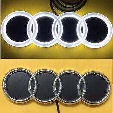 4D LED Car Tail Logo White Light for Audi Q3 Q5 A1 A3 TT Auto Badge Light Emblem