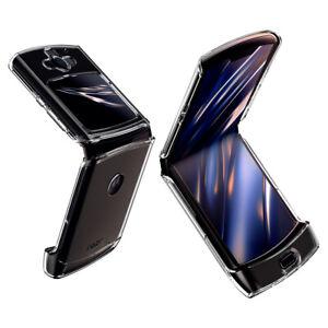 Motorola Razr Case   Spigen®[Ultra Hybrid] - Clear Slim Foldable Case