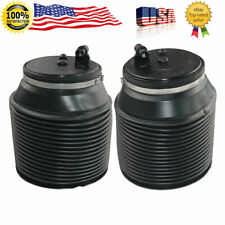 Pair Rear Air Suspension Spring Bags For Toyota 4Runner Lexus GX460 2010-2018