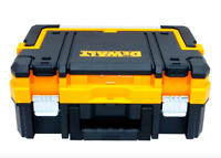 Dewalt 7 Compartment Small Parts Tool Box Bin Storage Portable Organizer Latch