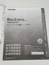 2003 TOSHIBA TV OWNERS MANUAL 46HX83 51HX83 57HX83 65HX83 (Spanish Version)