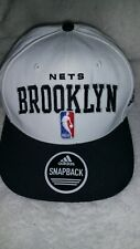 BROOKLYN  NETS  ADIDAS  SNAPBACK  CAP  -  NEW