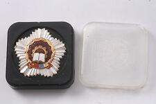 Romania Romanian Medal Badge Labor Front Worker 1976 with Box Communist