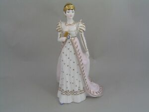 "COALPORT EMPRESS JOSEPHINE 8 3/4"" FIGURINE, FROM THE FEMMES FATALES COLLECTION"