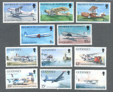 Guernsey-Aviation 1973 & 1989 sets mnh