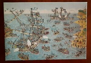 Where's Waldo? Wally Being a Pirate 100 Pieces Jigsaw