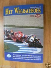 HET WEGRACEBOEK 1998-1999, MOTO GPCOVER DOOHAN,BIAGGI,CRIVILLE,BMW HISTORY