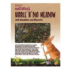 Rosewood Nibble 'n' Dig Meadow Play Forage Treat for Rabbits, Guinea Pigs, Degus
