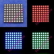 RGB 8x8 Colorful Full Color LED Dot Matrix Display 60x60mm Square Common Anode b