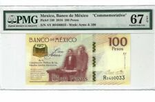 "2016 Mexico 100 Pesos ""COMMEMORATIVE"" PMG67 EPQ SUPERB GEM UNC <P-130>"