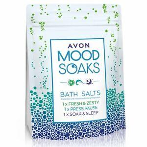 AVON ~ Mood Soaks Bath Salts - Brand New Sealed