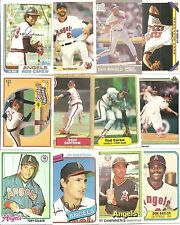 (50) Different Los Angeles Angels BB Cards NO DUPES! 78-08 Carew Ryan Blyleven