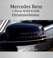Mercedes C-Klasse CL203 - 3M Zierleisten Chromleisten Außenspiegel Spiegel VORNE