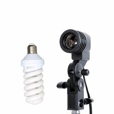 Studio Continuous Light Single Head Holder With E27 Tricolor Bulb 45W 220V Kit