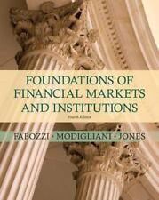 Foundations of Financial Markets and Institutions (4th Edition), Frank J. Fabozz