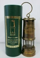British Coal Mining Aberaman Colliery Miners Copper Brass Safety Lamp Vale Wales