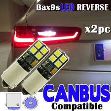 2x AUDI A3 S3 RS3 8 V Reverse Lampadine Bianco Canbus 8smd 3030 smd ERROR FREE BAX9S