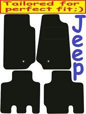 JEEP Wrangler 4dr Deluxe qualità Tappetini su misura 2007 2008 2009 2010 2011 2012 201